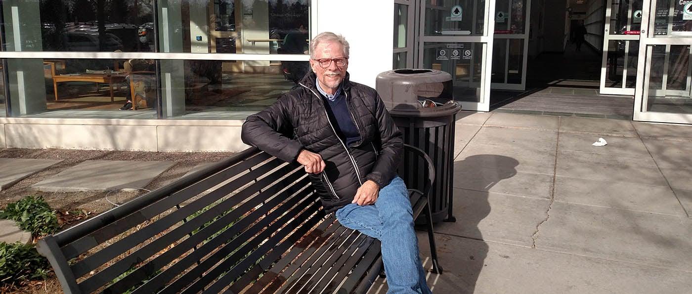 AIDS patient David Dillon at CU Anschutz