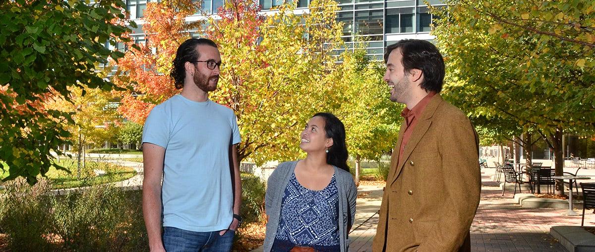 Graduate students at CU Anschutz
