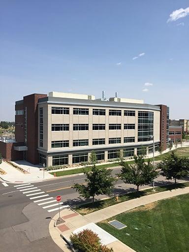 Bioscience 2 Building at CU Anschutz