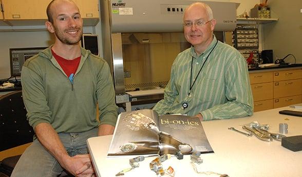 Richard Weir robotic hand research CU Anschutz