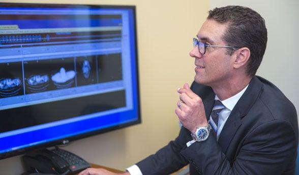 Dr. Robert Doebele at the CU Cancer Center