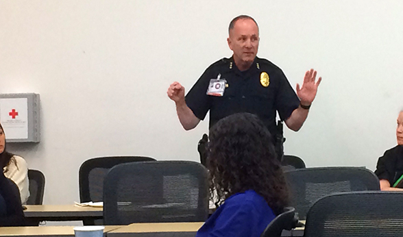 Police Chief Randy Repola