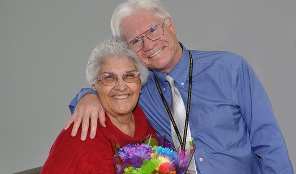 Alice Deanda and Gary Brown of CU Anschutz