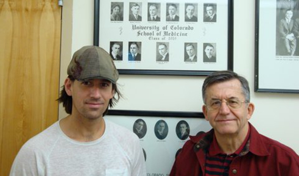 Karl and Corky Vance in the CU School of Medicine