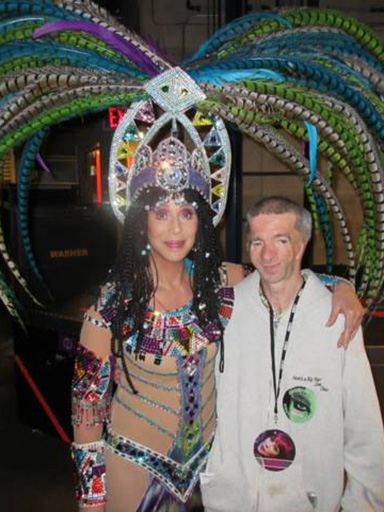 Cher with Francis Smith