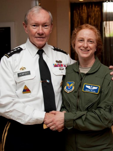 Gen Dempsey and Col (Ret) Pearl