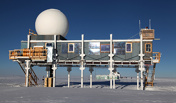 The Big House at Summit Station Greenland