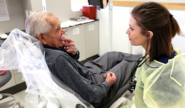 Charles Walters and Olga Hamilton at Heroes Clinic