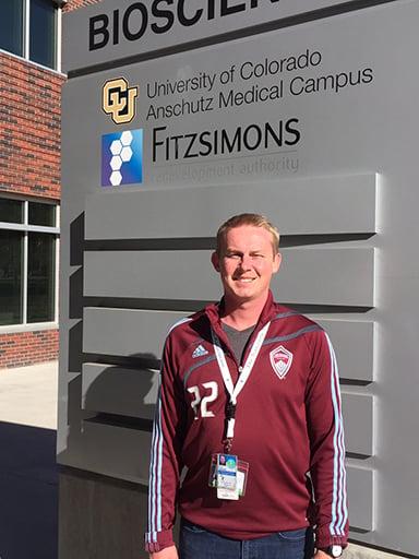 Kyle Kenyon at CU Anschutz