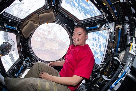 Kjell Lindgren on International Space Station