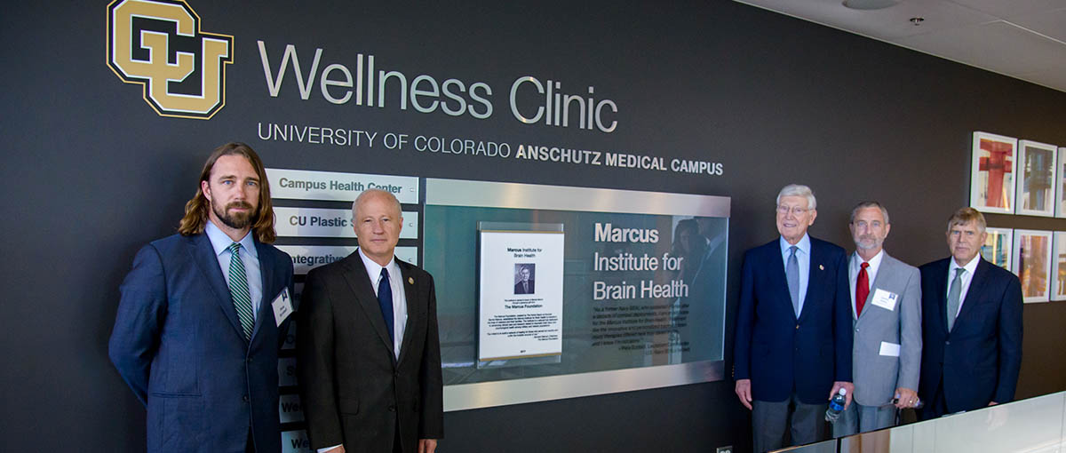 Leaders of the Marcus Institute for Brain Health at CU Anschutz