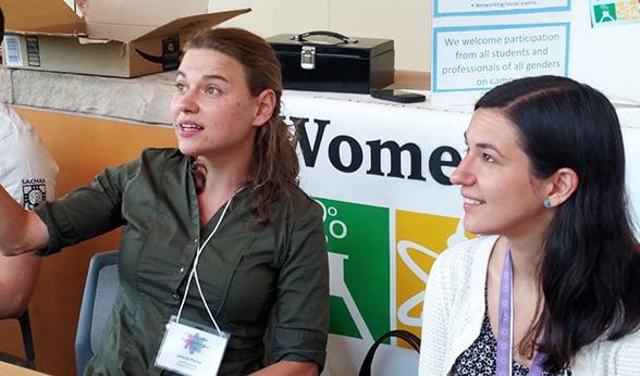 Women in STEM table
