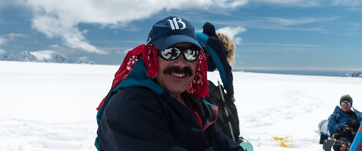 Richard Spritz on South Georgia island