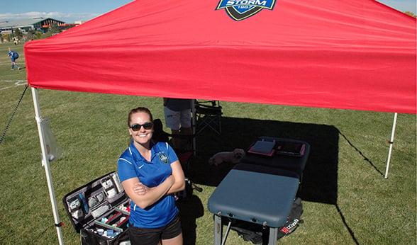 Julie Nickoley of Storm soccer