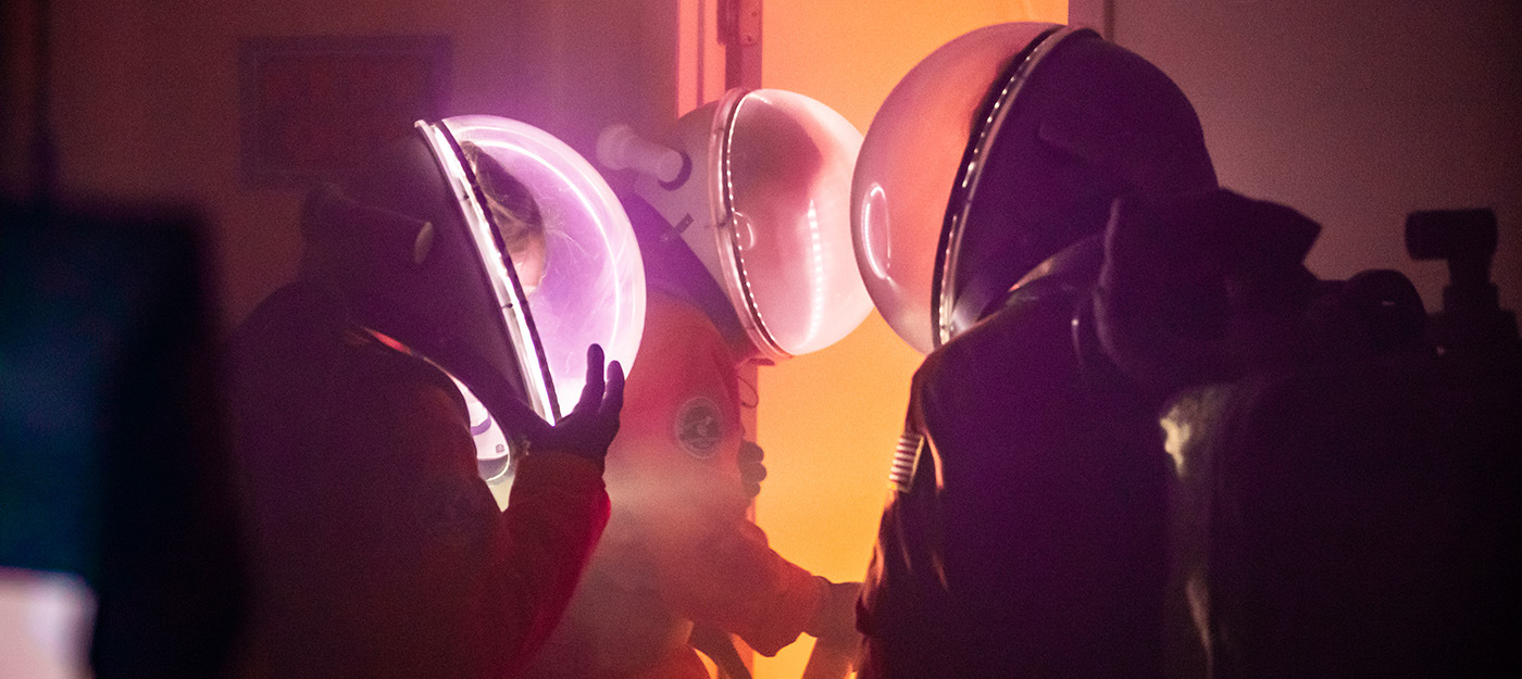 Fire in the Mars Habitat